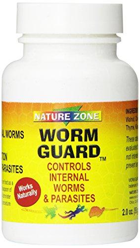 Nature Zone SNZ59321 Reptile Worm Guard Powder, 2-Ounce