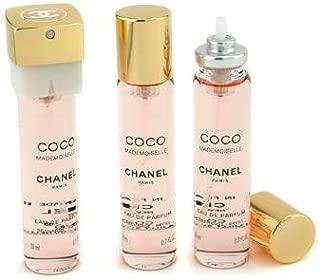 Chanel Coco Mademoiselle Twist & Spray Eau De Parfum Refill 3x20ml/0.7oz