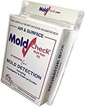 DIY MoldCheck Mold Test Kit (10 Tests per Kit) Multiple air Sampling Tests, Simple Visual Comparison, Locate Mold Source, ...