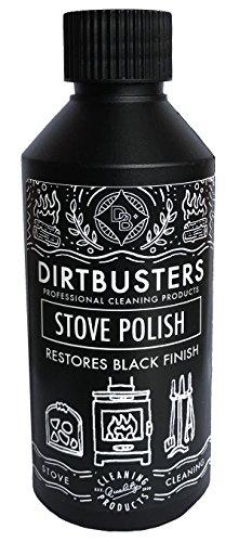 Dirtbusters Ofenpolitur - für Holz-, Kamin- und Kachelöfen - 250 ml, schwarze Poliercreme/Ofenwichse (1)