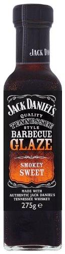 Jack Daniels Smokey Sweet BBQ Glaze 275 g (Pack of 8)
