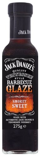 Jack Daniels Smokey Sweet BBQ Glaze 275 g (Pack of 8)