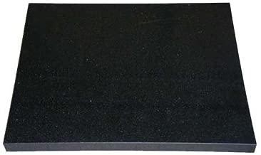 オーディオボード 天然黒御影石 (山西黒) 厚み約30mm 500×450mm 石専門店.com