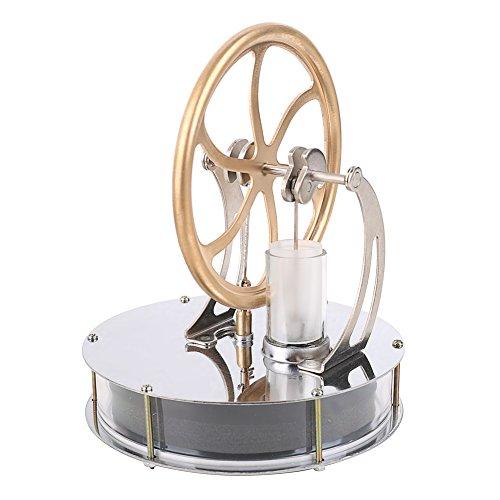 T-Language Miniature Low Temperature Stirling Engine Motor Model Puzzle Toys Kit