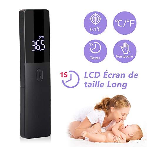 AGM Infrarot-Thermometer, digital, ohne Kontakt, mit LED-Display, Medizinisches Fieberthermometer für Babys, Kinder, Erwachsene