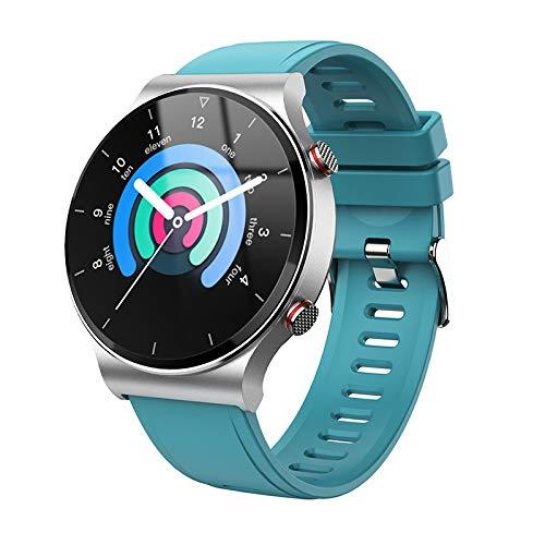 KOPOU Reloj Inteligente Pulsera Inteligente Resistente Al Agua Frecuencia Cardíaca Presión Arterial Podómetro de Oxígeno en Sangre Reloj de Llamada Bluetooth