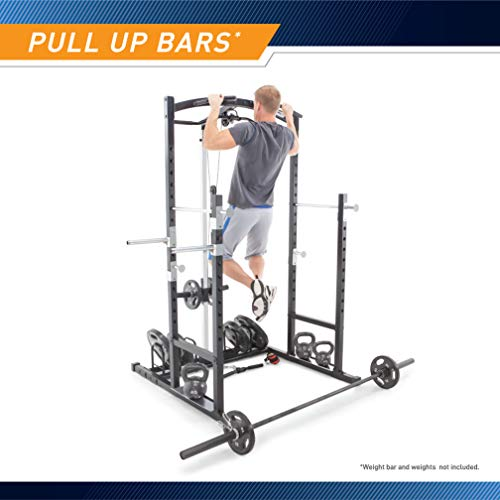 Marcy Home Gym Cage System Workout Station for Weightlifting, Bodybuilding and Strength Training MWM-7041
