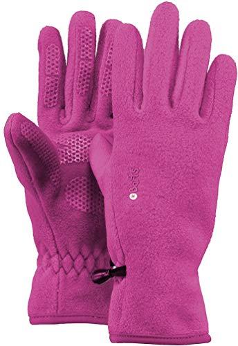 Barts Fleece Glove Kids - Guantes para Niños Unisex, color Morado, talla 6-8 años (Tamaño del fabricante: 4)