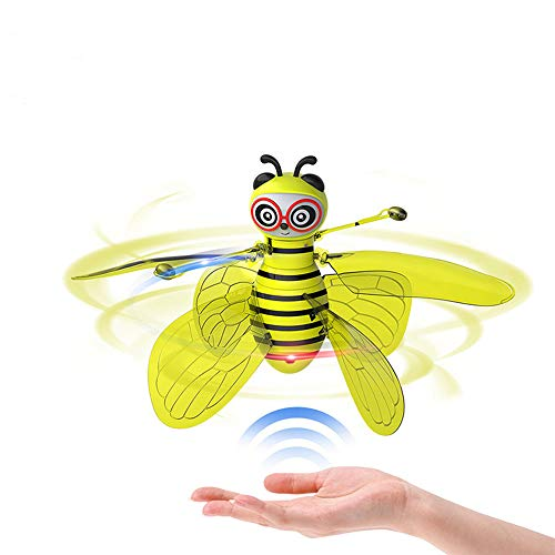 Weinig Bij Inductie Flying Children's Toy Smart Suspension Glow Drop-Resistant Remote Control Aircraft Kinderen Jongens En Meisjes Gravity Sensing Toys