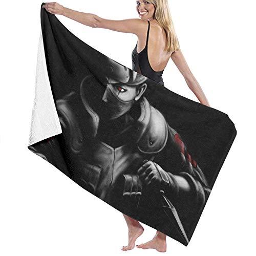 hoist Kakashi Naruto - Toallas de baño grandes y suaves absorbentes para mujeres y hombres