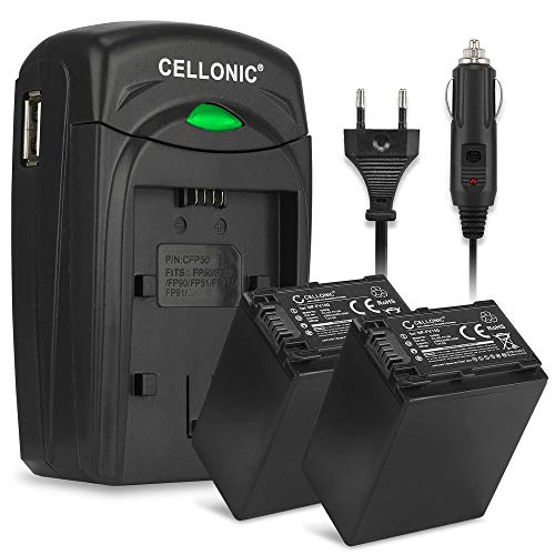 CELLONIC 2X Batterie Compatible ...