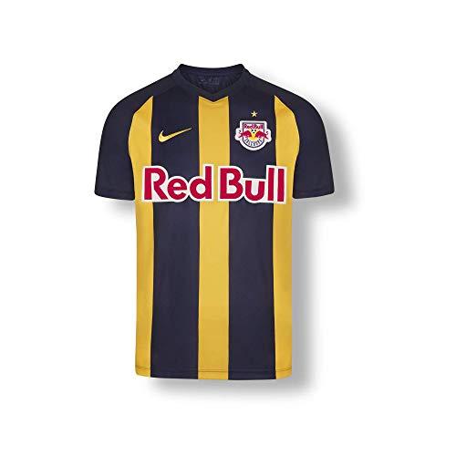 Red Bull Salzburg Away Trikot 19/20, Blau Youth Large T Shirt, FC Salzburg Original Bekleidung & Merchandise
