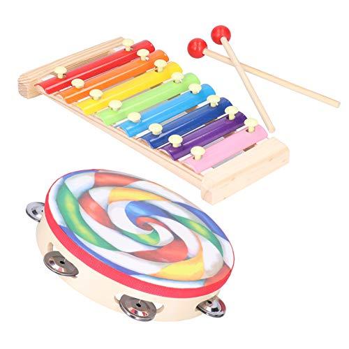 Campanilla colorida para niños para amantes de la música
