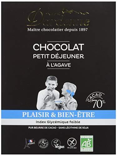 DARDENNE Chocolat Artisanal à l'Agave pour Petit Déjeuner BIO 300 g - Lot de 5