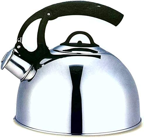 discount Stainless Steel 2021 Whisteling Water Kettle For Tea or Hot Drinks 2.7 Liters sale Induction Moving Handle outlet sale