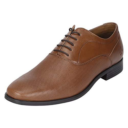 Bond Street by (Red Tape) Men's TAN Formal Shoes-9 UK (43 EU) (BSE032)