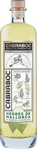 Cabraboc Herbes de Mallorca - Hierbas - Kräuterlikör - 0,7L - Mallorca Spanien - 27,5% vol