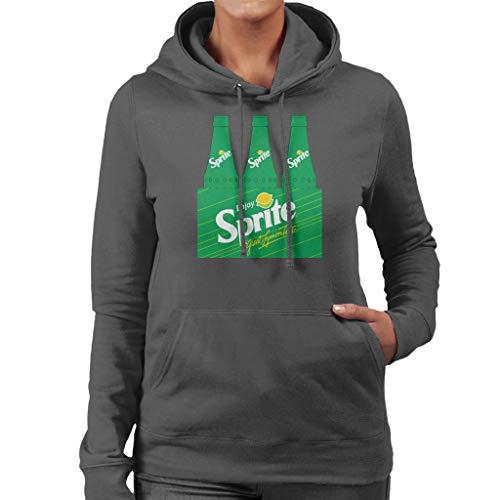 Sprite Enjoy Retro 90s Bottle Crate Women's Hooded Sweatshirt
