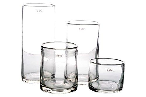 Dutz Vase Cylinder Clear
