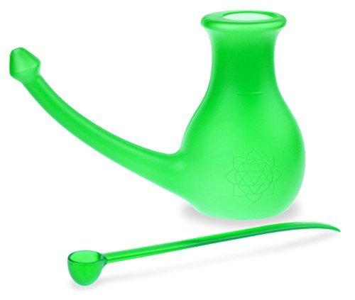 NoseBuddy neti pot, Green by Scandinavian Yoga and Meditation School