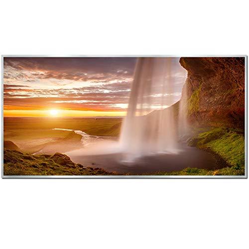 Ecowelle Infrarotheizung mit Bild | 750 Watt | 60x120 cm | Infrarot Heizung| | Made in Germany| (40)