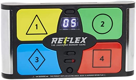 Lightning Reaction Reflex Shocking Memory Game – Electronic Memory Game with a Shock