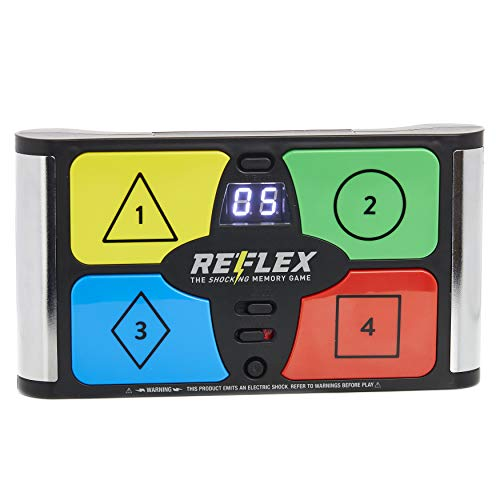 Paladone Lightning Reaction Reflex Shocking Memory Game - Electronic Memory Game with a Shock