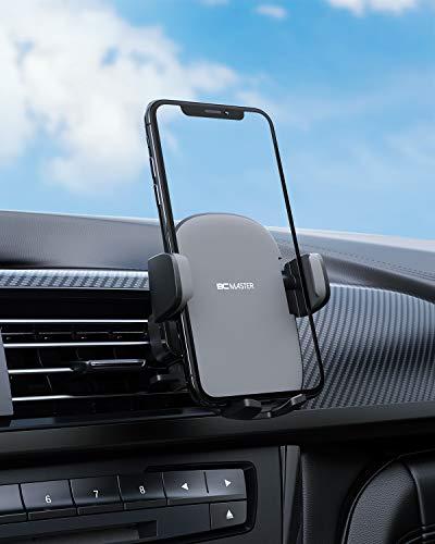 BCMASTER Supporto Auto Porta Cellulare Auto Universale 360 Gradi di Rotazione per Telefono iPhone 11 / X / 8, Samsung Galaxy S9 / 8/7, Xiaomi, Huawei e GPS Dispositivi