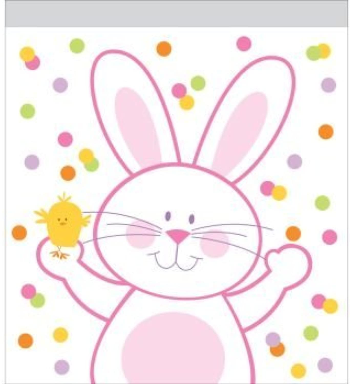 Easter Bunny Zip Lock Sandwich Bags 10 Per Pack