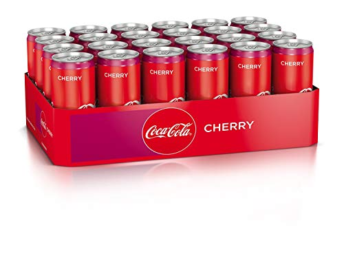 Coca-Cola Cherry Dose, 24 x 330 ml, EINWEG