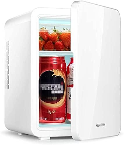 MUMUMI Frigorífico, Refrigerador de Automóviles, Dormitorio de Doble Uso Del Automóvil Mini Refrigerador, Función Caliente Y Fría, Adecuado para Automóviles, Dormitorios, Dormitorios, Oficinas, Viaje