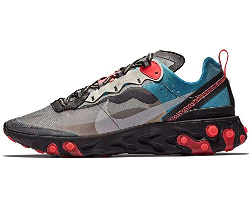 Nike React Element 87 Mens Casual Running Shoes Aq1090-006 Size 15