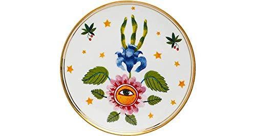 BITOSSI HOME & Funky Table LA TAVOLA SCOMPOSTA, Piatto Fiore Occhio