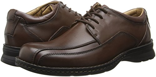 Dockers Men's Trustee Leather Oxford Dress Shoe,Dark Tan,7.5 M US