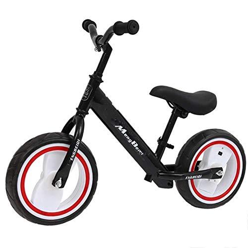 Yankuoo 12 inch kleinkind-evenwichtstraining bike, pedaal voor kinderen, in hoogte verstelbaar voor kinderen van 2 tot 5 jaar oud
