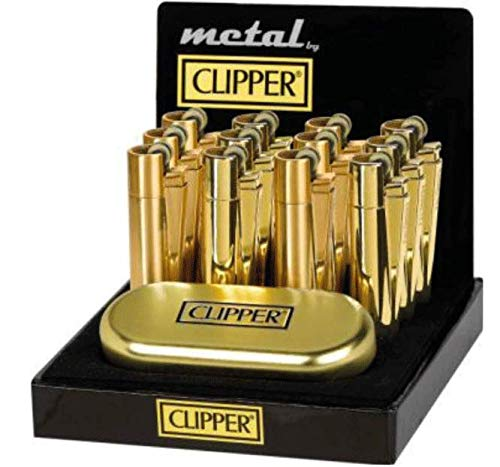 Sale! Clipper Metall Gold Glänzend