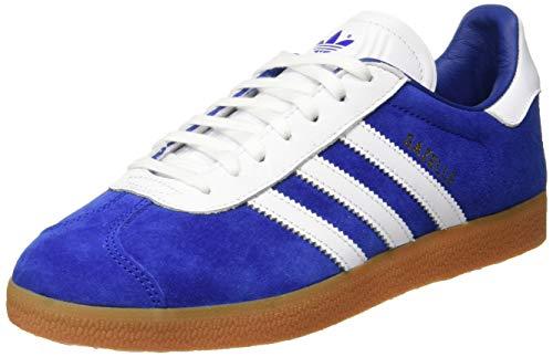 adidas Gazelle, Zapatillas de Gimnasia Hombre, Azul (Collegiate Royal/FTWR White/FTWR White), 38 2/3 EU