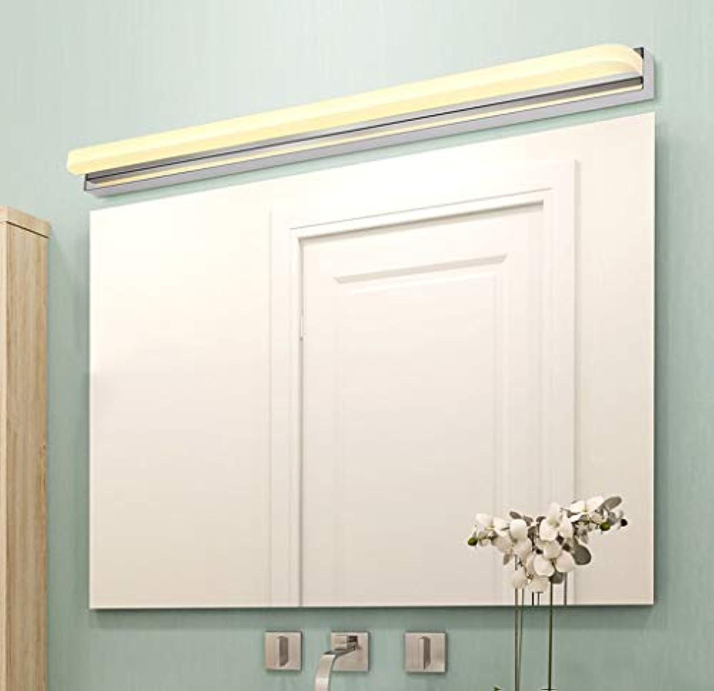 Spiegel vorne Licht LED-Spiegel Scheinwerfer Edelstahl ...