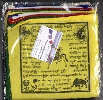 Klangschalen-Center Traditionelle tibetische Gebetsfahne ST