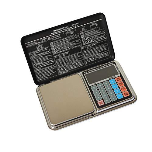 ZCY Elektronische Schaal Smart Digital genaamd 0.01G High-Precision Gold Sieraden Thee genoemd Medicinaal Materiaal 1000g/0.1g
