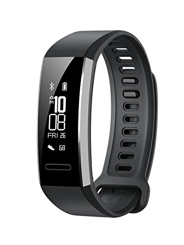 Huawei Band 2 Pro Smartwatch, Display da 0.91', Resistente all'acqua fino a 5 ATM, Nero
