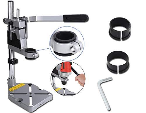 Soporte de prensa de taladro para banco de trabajo eléctrico, abrazadera universal para banco de trabajo perforación soporte de prensa de taladro manual soporte herramientas eléctricas accesorios