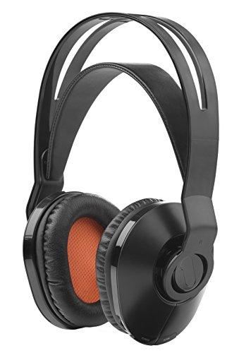 One For All HP1020 Draadloze TV Hoofdtelefoon met zelfaanpassende hoofdband (Over-Ear voor TV/Muziek/PC) -met Voice Clear Technologie geïntegreerd -Zwart