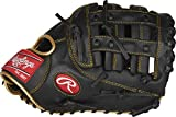 Rawlings R9 Series Baseball First Base Mitt, Mod Pro H Web, 12.5 inch, Right Hand Throw