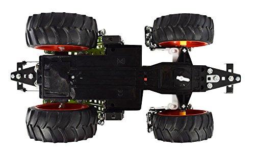 RC Auto kaufen Traktor Bild 5: Tronico 10058 - Metallbaukasten Traktor Claas Axion 850 mit Fernsteuerung, Profi Serie, Maßstab 1:16, 734-teilig, grün*