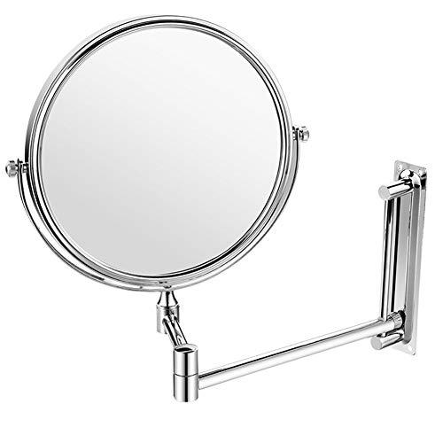 Miroir Miroir Maquillage Télescopique Rotate Magnifier Bathroom Double Sided ZHANGAIZHEN