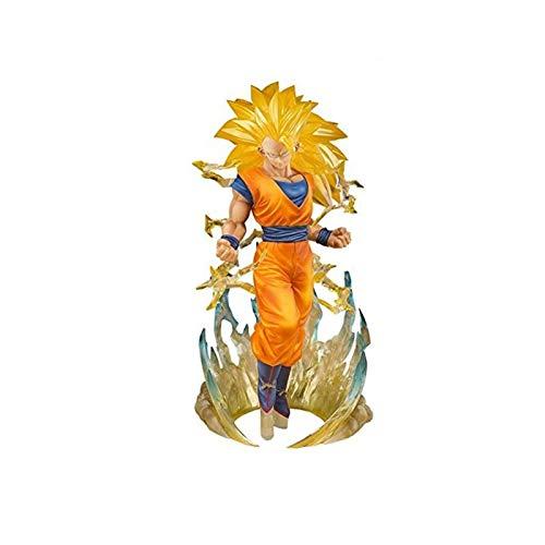 yang baby Dragon Ball Super Saiyan 3 Son Goku Figura (versión No Original)