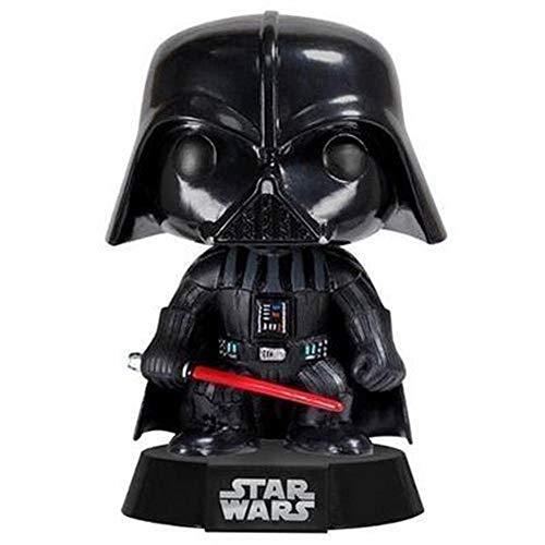 RZSY Juguete De Darth Vader 12CM PVC Adorno De Escritorio Figura De Acción Modelo De Personaje Animado Estatua, para Regalos Y Decoración del Hogar