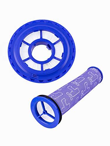 DC41 - Juego de filtros de repuesto para Dyson (filtro HEPA post y prefiltro, repuesto para Dyson DC41, DC65, DC66, para Animal, Multi Floor and Ball Vacuums parte: 920769-01&920640-01