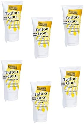 2 oz Tattoo Goo Lotion with Skin Deep Brand Applicator Stick 6 Lotions and Applicators product image